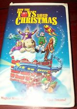How The Toys Saved Christmas VHS Movie Not Rated 1997 Buena Vista Home Video