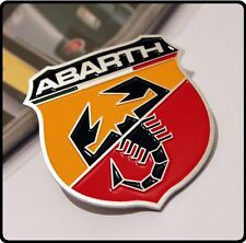 Abarth Car Badge Sticker Emblem Fiat 500 595 695 Punto Brava Bravo Stilo Uno 14