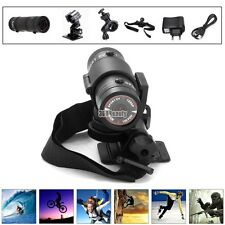 Mini F9 HD Bike Motorcycle Helmet Sports Action Camera Video DVR DV Camcorder