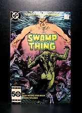 COMICS: DC: Saga of the Swamp Thing #38 (1980s), 2nd John Constantine app - RARE
