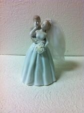 GORGEOUS PORCELAIN BRIDE AND GROOM NEW WITH TAGS