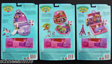NEU Mini Polly Pocket Polly in Paris Winter Hotel Schlitten Ski Dschungel Bott