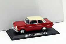 OPEL record p2 rouge 1:43 ALTAYA