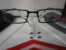 UMBRO  EYEGLASSES FRAME U143  BROWN  52-18-140  DEMO   WITH CASE AUTHENTIC