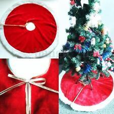 47'' Tapis Protection Pour Sapin De Noël Jupe Robe Arbre Décoration Cache Pied