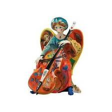 +. Goebel Engel m. Chello Delamonica P Skulpturen  Adhara 24cm Ltd.NEU & OVP