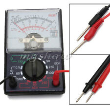 Voltmeter Ammeter Multimeter Meter Tester With Testing Leads AC/DC Ohm Voltage
