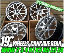 "19"" ALUWERKS DTM ALLOY WHEELS BMW E46 M3 FITMENT ALLOY STAGGERED WIDTH 8.5 & 9.5"
