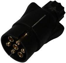 Fiche mâle 7pin prise connecteur de remorque 7 broches 12V 7mm C12383 attelage
