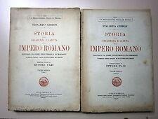 Gibbon # STORIA DELLA DECADENZA E CADUTA DELLO IMPERO ROMANO #Vol. IV 1927# Sten
