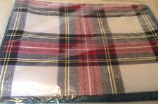 Williams Sonoma Stewart Tartan Plaid Set Four Placemats (4) Holiday Christmas