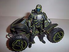 Halo 3 **ODST THE ROOKIE w/ MONGOOSE IN VISR MODE** Figure Complete RARE!!!