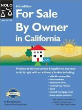 For Sale by Owner in California by George Devine (2002, Paperback)