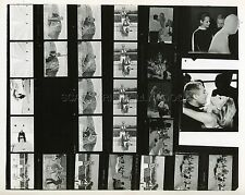 URSULA ANDRESS MARCELLO MASTROIANNI THE 10TH VICTIM 1965 CONTACT SHEET PHOTO