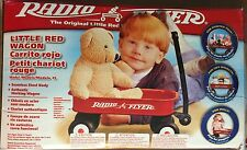 "Radio Flyer 5 12"" Kids Little Red Toy Wagon open box return partially assembled"