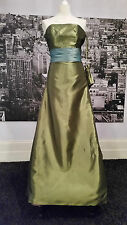 Forever Yours Dress (Olive) Bridesmaid, Prom, Ball,  Black Tie, RRP £200+
