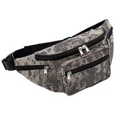 Extreme Pak™ Digital Camo Water-Repellent Waist Hip Bag Fanny Pack