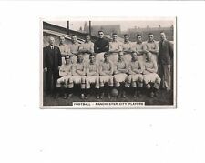 Football-Manchester City Players.Senior Service Photo Card #66. 1935