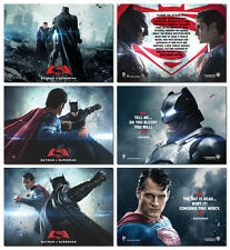 BATMAN V SUPERMAN BATTLE - 3 Card Promo Set