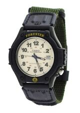 Casio FT500WV-3B Mens Green Forester Analog Sports Watch Cloth Band