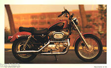 1998 Harley-Davidson XLH SPORTSTER 1200 Photo Post Card: FREE SHIPPING PostCard