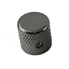 Barrel Knob Black for Fender Tele or Strat