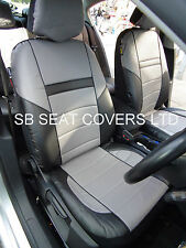 VOLVO V40 / V50 / V60 / V70 CAR SEAT COVERS ROSSINI ROS 0210 GREY LEATHERETTE