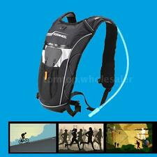 Cycling Hiking Running Hydration Knapsack 5L Backpack + 2L Water Bladder Bag