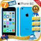 APPLE iPHONE 5C 16GB BLUE 100% UNLOCKED + 12MTH AUS WTY (SEALED BOX)
