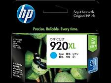 HP #920XL Cyan Ink Cartridge CD972AN GENUINE NEW