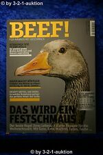 Beef Nr.8 für Männer mit Geschmack 4/2011 Das wird ein Festschmaus