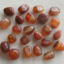 24 Red Carnelian Chunky Nugget Beads ~ Little Crafty Beaders
