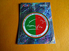 N°369 ECUSSON BADGE CS SEDAN ARDENNES CSSA PANINI FOOTBALL FOOT 2007 2006-2007