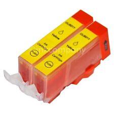 2 CANON Patronen mit Chip CLI-521 Y MP 620 MP 630 MP 640 MX 870 NEU