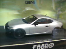 Toyota Celica Type 86 RC Coupe plata met 2012 New EBBRO 1:43