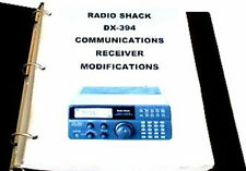 MODIFICATIONS DOCUMENT + OPERATING + SERVICE MANUAL for the RADIO SHACK DX-394