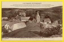 cpa Auvergne MURAT le QUAIRE (Puy de Dôme) Les RUINES du CHÂTEAU du XIIIe siècle
