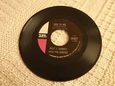 BILLY J KRAMER WITH THE DAKOTAS  BAD TO ME/LITTLE CHILDREN IMPERIAL 66027