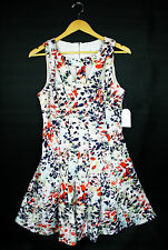 NWT $128 Womens Size 10 Jessica Simpson JS5B5919 Panel Fit & Flare Dress Cut Out