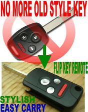 ALLin1 FLIP KEY REMOTE FOR 2006-2011 CIVIC TRANSPONDER CHIP KEYLESS ENTRY FOB