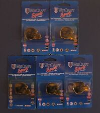 JACKSONVILLE JAGUARS HELMET PINS LOT OF FIVE (5) NEW NFL WINCRAFT SPORTS