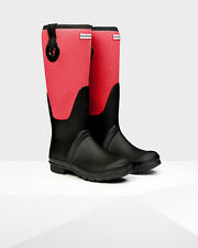 Hunter Original Scuba Eyelet Wellington Boots, Red, Size Women 5, $225