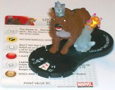 LOCKJAW AND HAIRBALL #052 #52 Chaos War Marvel Heroclix Super Rare