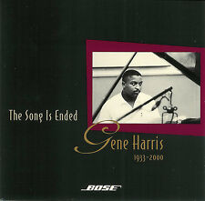 Gene Harris ~ The Song Is Ended ~ Bose CD