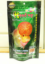 100g.OKIKO High Quality Flowerhorn and Cichild Fish Food  Pellet Size L Head Up