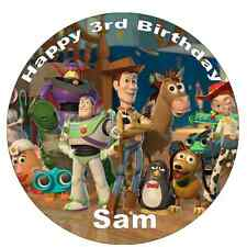 Toy Story Cake Topper Personalised Edible Wafer Paper 7.5""