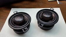 """3.5"""" CRITICAL MASS RS3 DASH SPEAKER QUALITY BEST CARBON FIBER MADE IN USA MID US"""