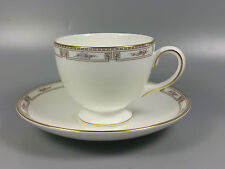 WEDGWOOD COLCHESTER TEA CUP AND SAUCER (LEIGH SHAPE) (PERFECT)