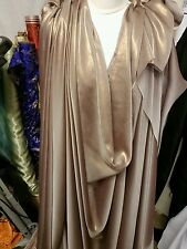 "1.5M  brownie    gold  SHIMMER  DRESS CHIFFON FABRIC 58"" WIDE"