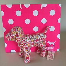 VICTORIA'S SECRET PINK Flower DREAM PLUSH DOG. New with Tags!! WOW